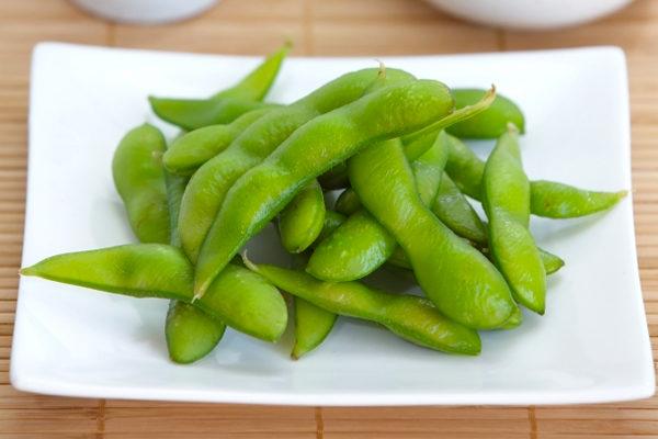 不可生吃的蔬菜-毛豆