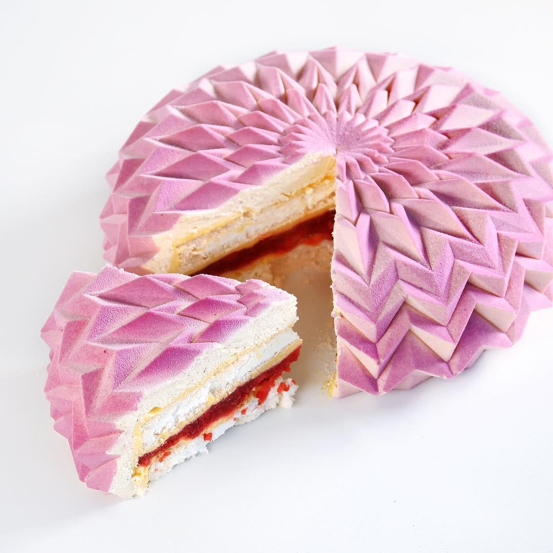 几何图形精致蛋糕 - 6