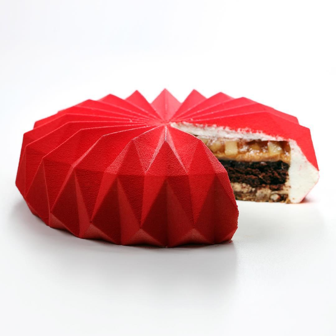 几何图形精致蛋糕 - 5