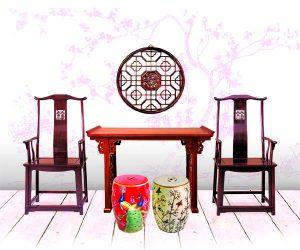 红木家具, 红木家具推荐, 翻新红木家具-古时的瓷凳