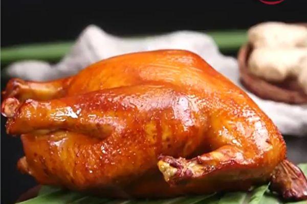 传统茶熏鸡