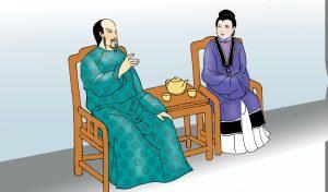 女娲说是郑濂的夫人-夫妇