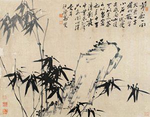 竹有许多美称-郑板桥《竹石图》