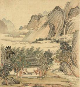 杨南峰路过济宁-图为坐禅