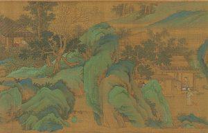 和神国民风习俗相当不错-长夏江村图