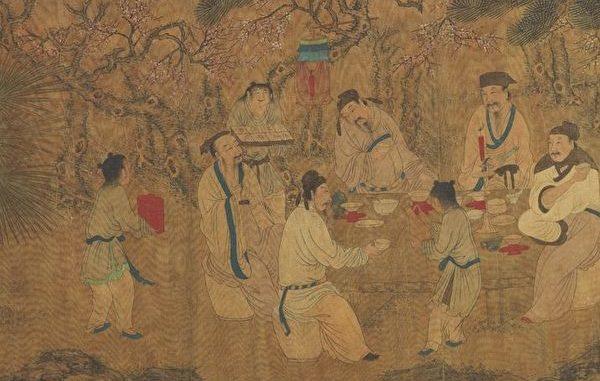 中国古代饮酒礼仪