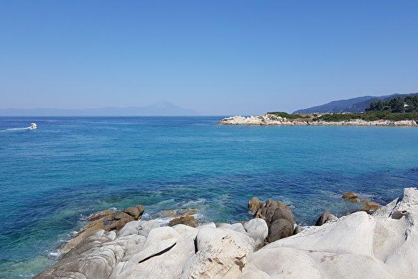希腊的爱琴海。(Pixabay )