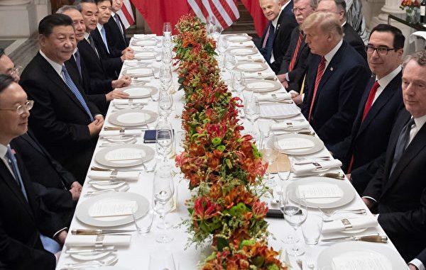 特朗普,习近平,中美贸易谈判