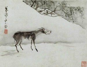 驴子身上-写着自己的名字