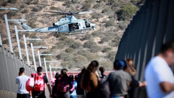 美国边境非法移民