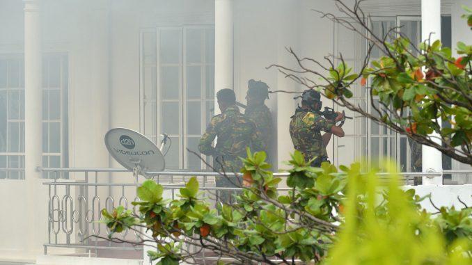 斯里兰卡连环爆炸