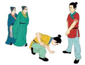 韩信能忍-胯下辱