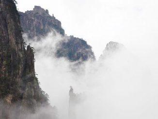 雾缭的海市蜃楼