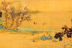 苏轼与友人-游赤壁