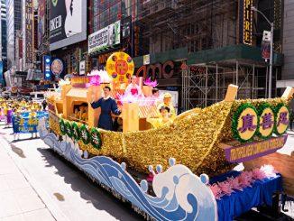 法轮大法日纽约曼哈顿大游行