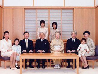 日本王室全家福照片(法新社)