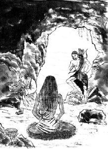 米勒日巴修行的-山洞