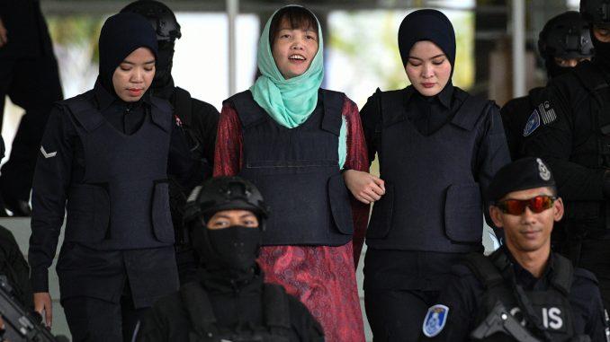 金正男案越南女被释放