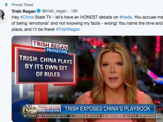 美中女主播贸易辩论