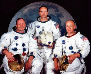 SPACE-US-HISTORY OF MANNED SPACE FLIGHT-APOLLO XI