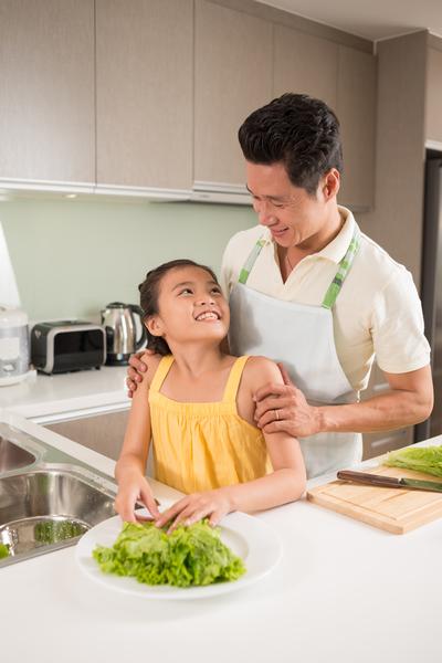 健康饮食, 家务, 绿色生活, 亲子教育