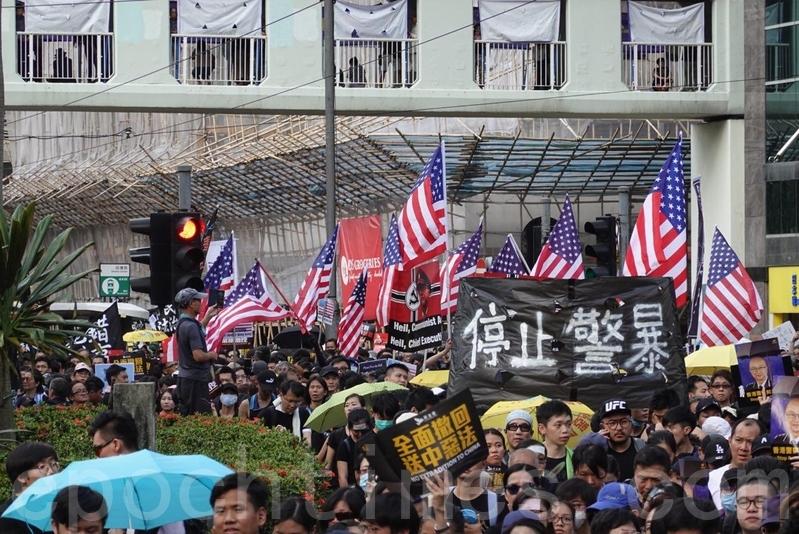 媒体人, 蔡咏梅, 反送中, 警察, 暴徒