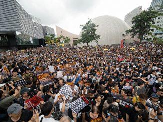 和平抗暴, 九龙, 反送中, 香港