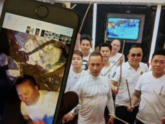 香港黑帮, 白衣黑帮,医生,元朗袭击,告诫信