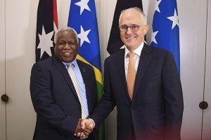 AUSTRALIA-SOLOMON ISLANDS-DIPLOMACY