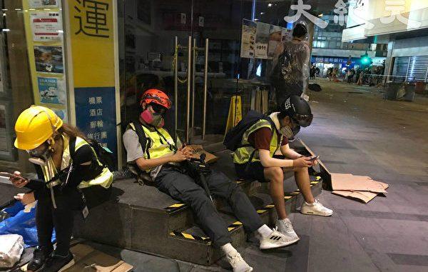 反送中, 香港, 港警, 记者