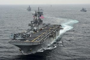 U.S. Warships Participate In Exercise Ssang Yong 2016