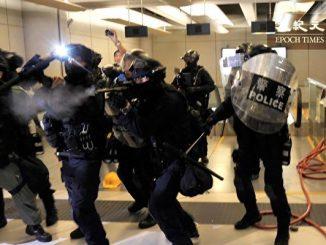 反送中, 香港警察, 中共 撑腰, 杨光, 人权恶棍