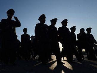 军官被降级, 贾廷安, 江泽民, 习近平, 常万全