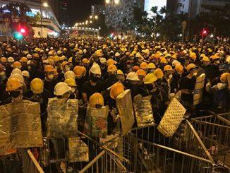 11.5万, 沙田, 反送中, 和平游行, 暴力清场