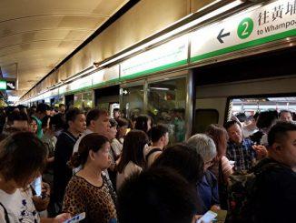 调景岭, 港铁不合作运动, 反送中, 香港学生