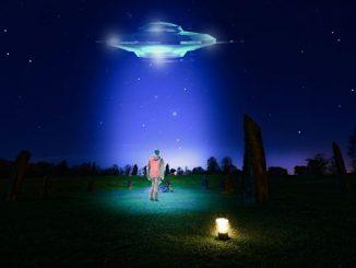 很多人将UFO视为等同于高科技或外星文明的飞碟。(公有领域)