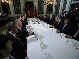 中美贸易战, 美中贸易, 特朗普