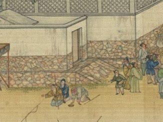 乞丐, 神仙, 杜若