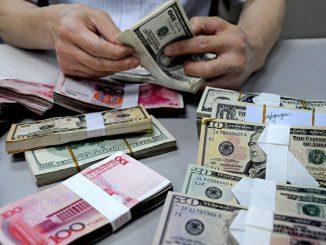 人民币, 美元, 汇率, 巴斯, 美中贸易战