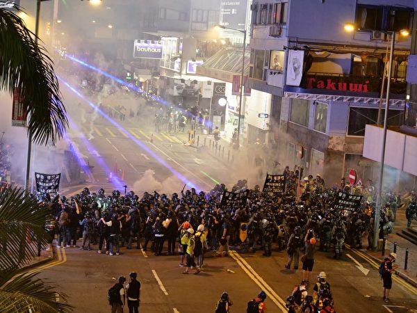 反送中, 官逼民反, 斥镇压, 护家园, 全港罢工