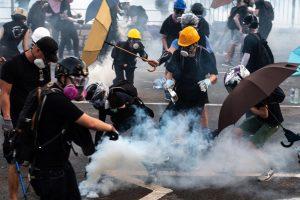 香港反送中 催泪弹