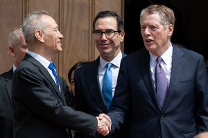 贸易谈判, 贸易战, 美中谈判