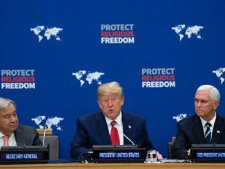 宗教自由, 宗教信仰, 特朗普联合国演讲