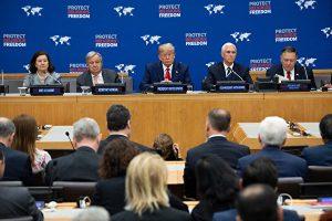 宗教自由, 联合国大会, 川普, 特朗普
