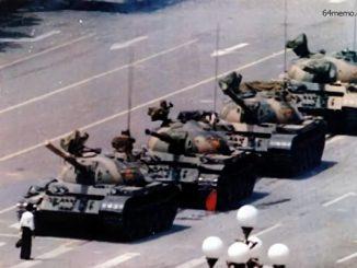 八九, 六四, 坦克人, 科尔, 学生运动