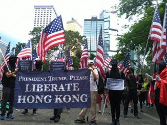 香港, 反送中, 香港人权与民主法案, 川普