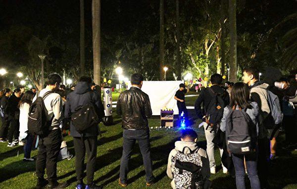 悉尼港人, 悉尼海德公园, 五大诉求