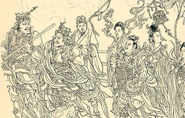 神仙, 山神庙