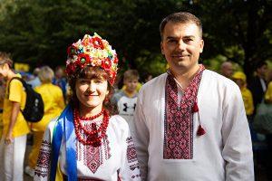 伦敦, 法轮功, 乌克兰, 大游行, 东欧
