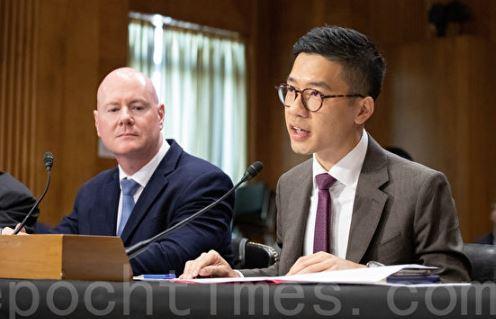 美国参议院, 香港, 听证会, 罗冠聪, 叶望辉